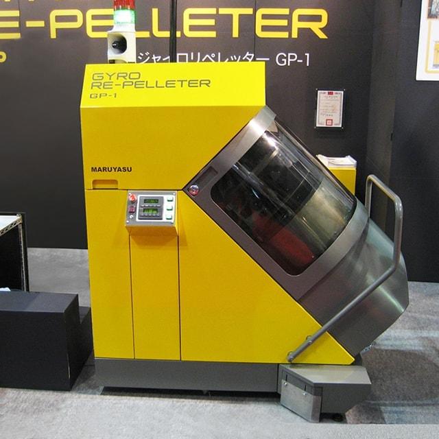非加熱圧縮ペレット再生機
